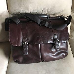 Solo Premium Leather Business/Laptop Bag